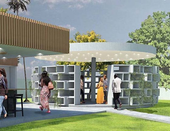 Anniversary Pavilions (Accra, Ghana)