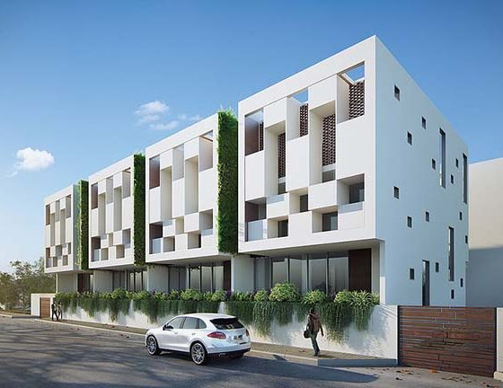 Residential Townhouses (Accra, Ghana)